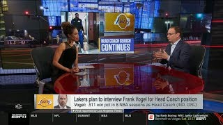 Wojnarowski & Mcmenamin BREAKING: Lakers plan to interview Frank Vogel for HC position \ ESPN SC