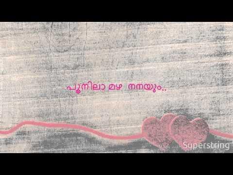 poonilamazha nanayum songs