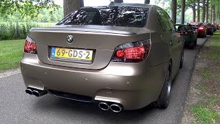 BMW M5 V10 w/ Custom X-Pipe + HMS Exhaust System!