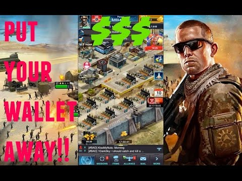 Mobile Strike YOU CAN PLAY WITHOUT SPENDING! PLEASE WATCH BEFORE YOU QUIT!!!