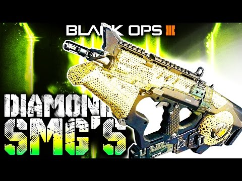 "BO3: DIAMOND GRIND! - ""SUBMACHINE GUNS"" (Dark Matter Camo Challenge)"