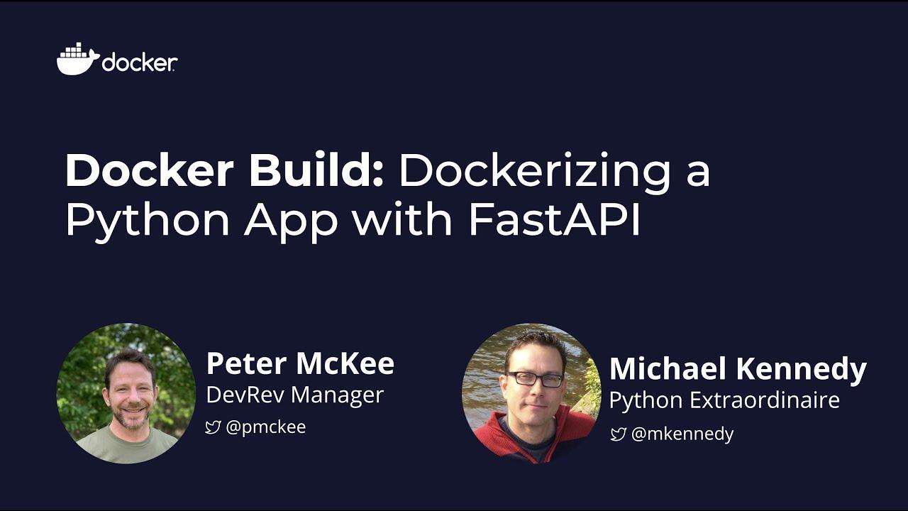 Docker Build: Dockerizing a Python App with FastAPI