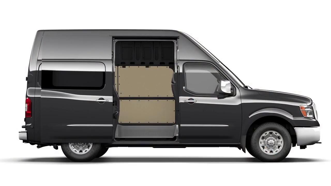 2018 Nissan Nv Cargo Van Sliding Doors Youtube