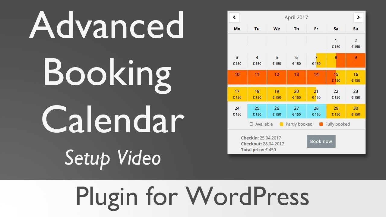 Advanced Booking Calendar – WordPress plugin | WordPress org