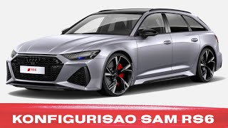 KONFIGURISAO sam RS6!