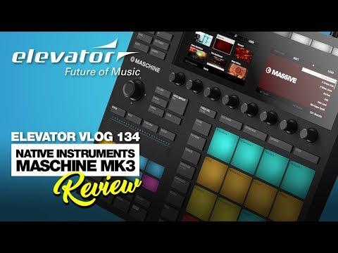 Native Instruments Maschine MK3 – Pad Controller – Test (Elevator Vlog 134 deutsch)
