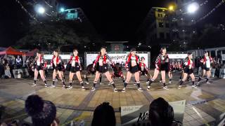 lu freshmen team joint u mass dance 2014