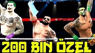WWE 2K16 Universe | YENI ÜMIDI TiMi | 200 000 Bin Özel Kemer Stadi | Ps4