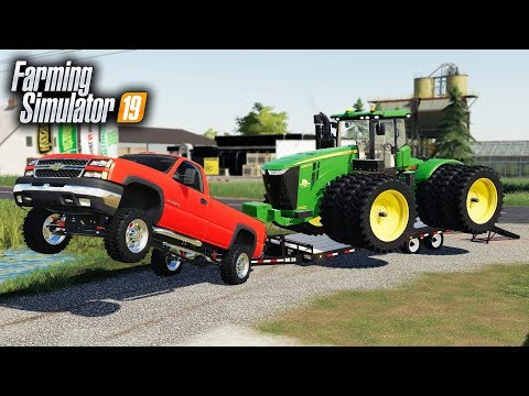 FS19- STRONGEST TRUCK IN AMERICA! HAULING EQUIPMENT TO BUILD A DRAG STRIP (UNREALISTIC) thumbnail