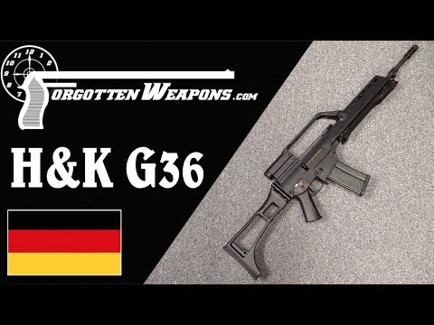 H&K G36: Germany Adopts the 5 56mm Cartridge