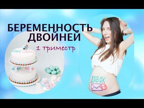 Моя беременность двойней  / 1 триместр беременности двойней