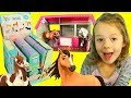 Spirit Horse Toys From The Netflix Cartoon Show & Playing With Pony Toys in Stable