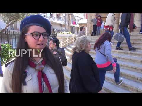 Syria: Christians celebrate Easter in Aleppo