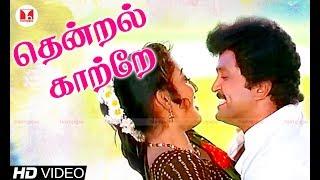 தென்றல் காற்றே காதல் பாடல் | Thendral kaatre | Prabhu, Kanaka | Kumbakarai Thangaiah