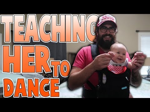 Teach A Baby How To Dance | Family Baby Vlogs