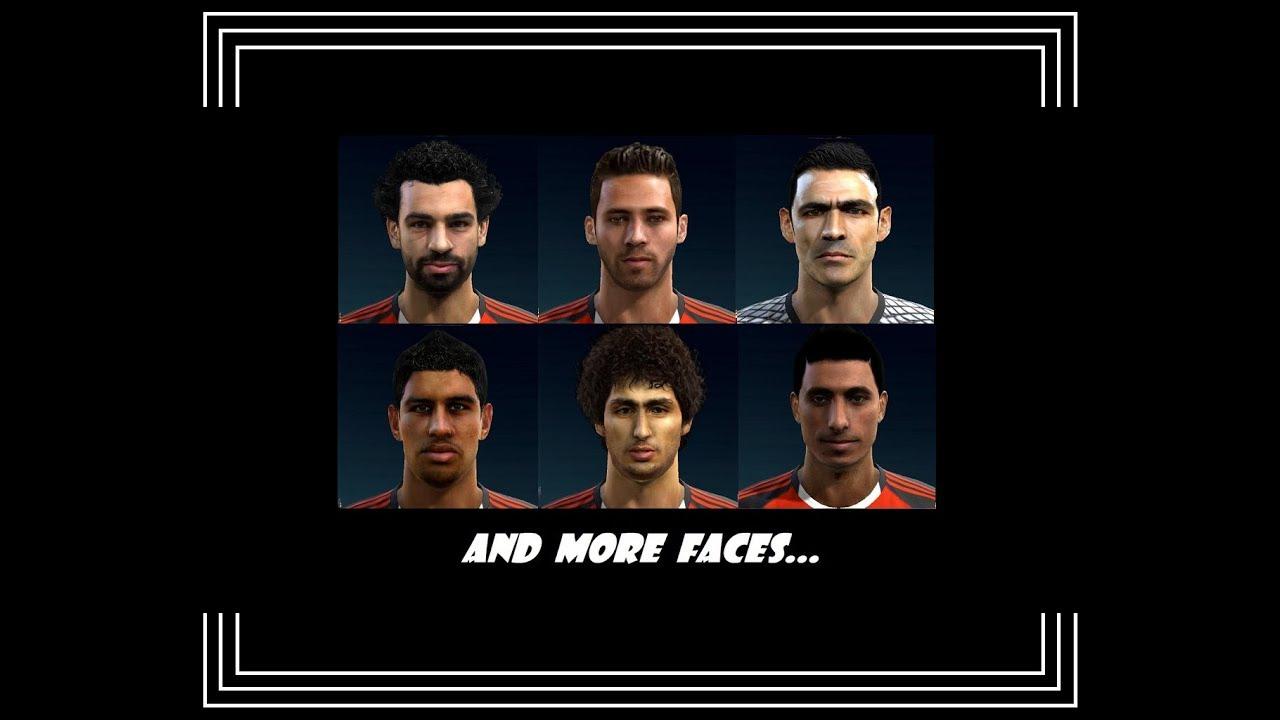 نتيجة بحث الصور عن PES 2013 | New Full Facepack HD • Egypt • 2017 / 2018