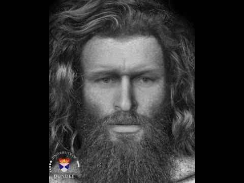 Face of a Pictish man who was killed 1,400 years ago – Reconstructed