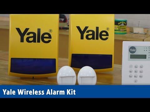 Yale Wireless Alarm Kit   Screwfix