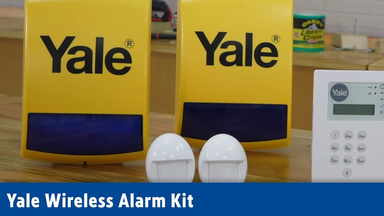 yale wireless alarm kit screwfix youtube. Black Bedroom Furniture Sets. Home Design Ideas
