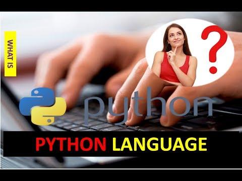 WHAT IS PYTHON LANGUAGE
