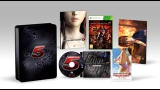 UnBoxing - Dead or Alive 5 Collector's Edition (XBox 360) - Adam Koralik