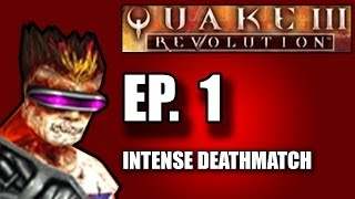 Brand Plays Quake III Revolution [PS2] - Part 1: Intense Deathmatch