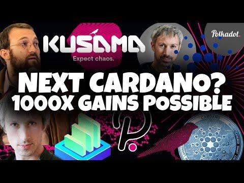 KUSAMA (KSM) - THE NEXT CARDANO (ADA) - Totally Under the Radar Crypto 1000x Gains!!!