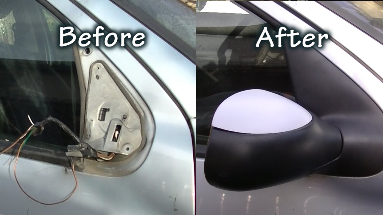 Coque Retroviseur Exterieur Nissan Qashqai 5 Minutes To Replace A Side Mirror Youtube