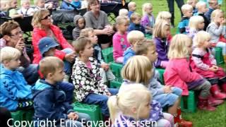 Møgeltønder Børnehus fik besøg af Pil & Liv