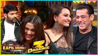 Kapil Sharma FUN COMEDY With Salman Khan, Sonakshi, Saiee | The Kapil Sharma Show Dabangg 3