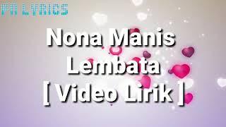 Download lagu LAGU NONA MANIS DARI LEMBATA FULL LIRIK