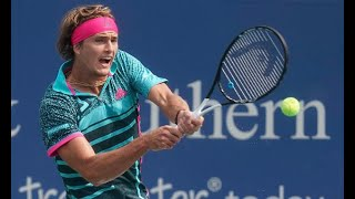 Breaking News -  World No 3 Alexander Zverev crashes out of the Cincinnati Masters