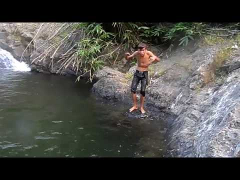 PANGABIT KABITON FALLS SAN JOSE JAMINDAN CAPIZ BACK DIVE OF EDGAR LLANDER JR.