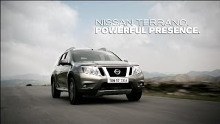 Nissan Terrano. Powerful Presence. (TVC)(The TV Commercial Film (45 secs) for Nissan Terrano. Powerful Presence. Nissan Terrano is a Stylish, Sturdy & Safe Premium Compact SUV from Nissan., 2013-10-21T16:55:10.000Z)