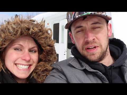 Living off the Grid   Young Couple Starts Off Grid Homestead   Day 1   S1 E1