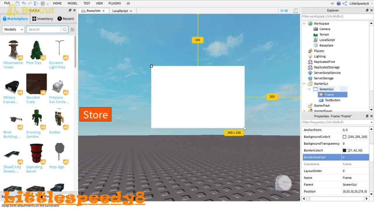 How to make a gamepass shop in roblox 2019