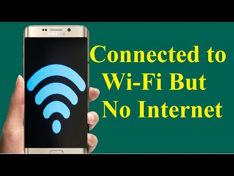 Fix Android WiFi Problem connected but no internet