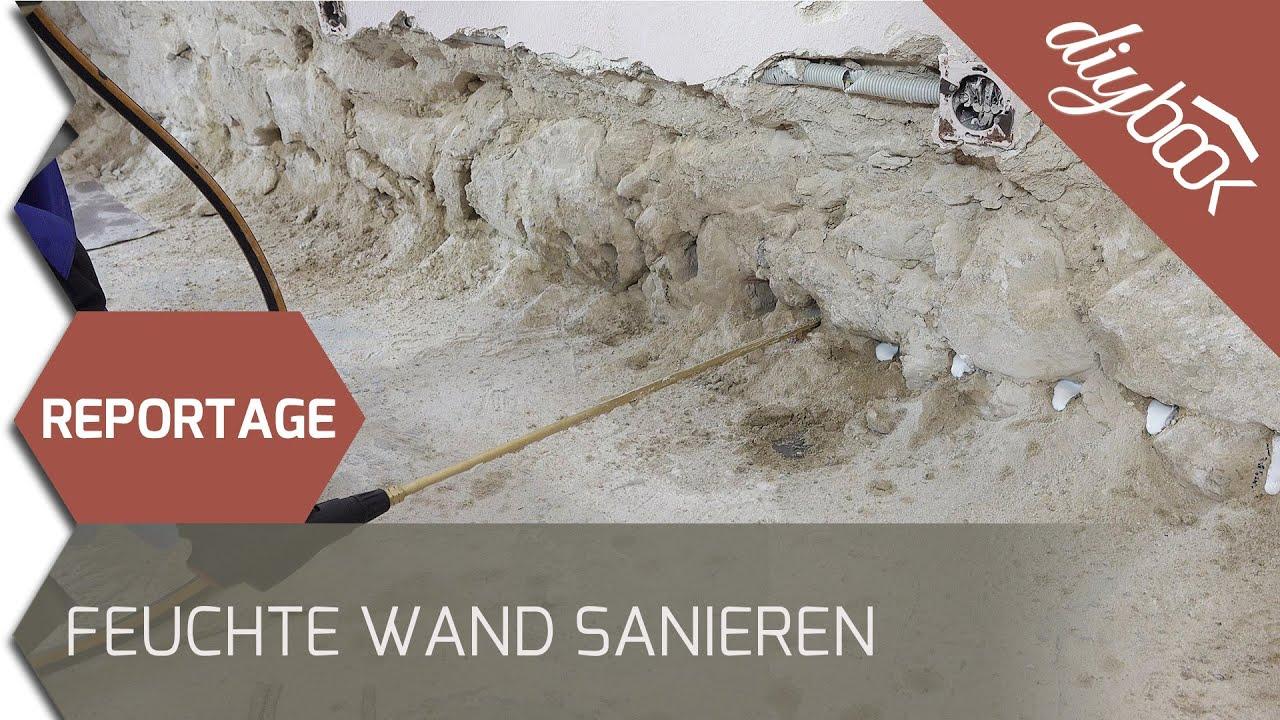 Reportage: Feuchte Wand sanieren | Video-Anleitung @ diybook.at