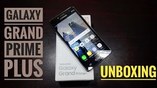 Samsung Galaxy Grand Prime Plus! Unboxing and initial setup!