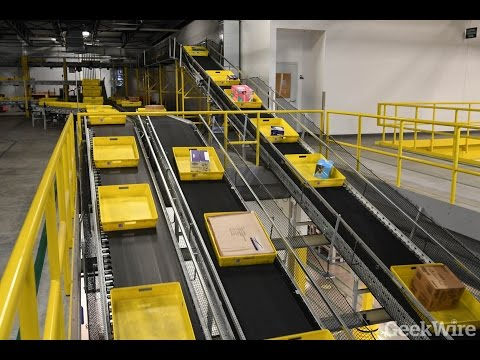 Cyber Monday at Amazon's 1 million square-foot fulfillment c