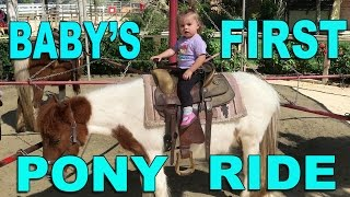 baby s first pony ride bad news from my mom