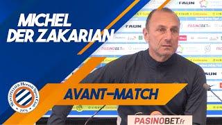 VIDEO: Michel Der Zakarian avant Amiens SC vs MHSC