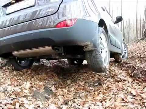 Hyundai ix35 4x4 prin padure cu cauciucuri de vara offroad
