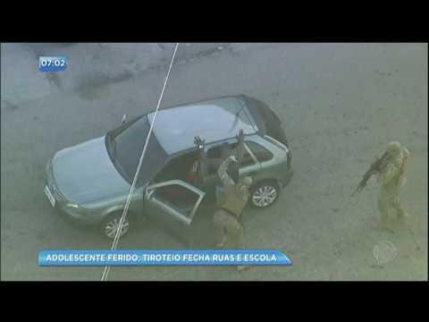 Adolescente é baleado durante tiroteio na Cidade de Deus, no RJ