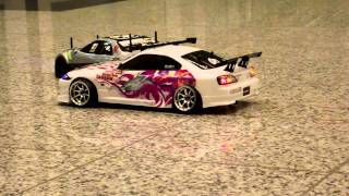 [RC DRIFT] Nissan Silvia S15 vs. Nissan Skyline r34