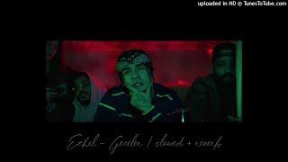 ezhel - geceler (slowed + reverb) Resimi