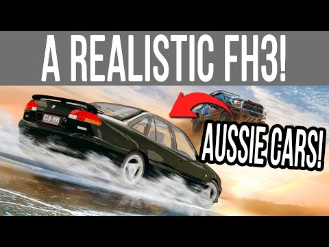 Playing A REALISTIC Forza Horizon 3 With Real Australian Cars!