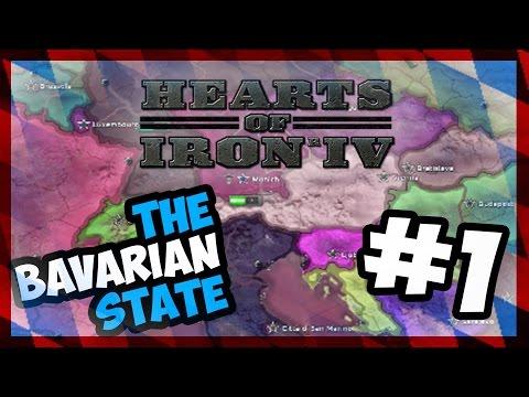 MAKE BAVARIA GREAT AGAIN!   Hearts of Iron IV - BAVARIA - MILLENNIUM DAWN - TFV - E.1