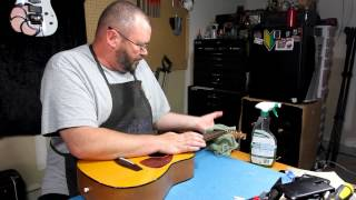 YAMAHA JR-1 A.k.a The FG-Junior | RATTLECAN GUITAR RESTORATIONS By James O'Rear