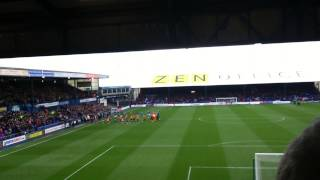 BRADFORD CITY FANS AT OLDHAM